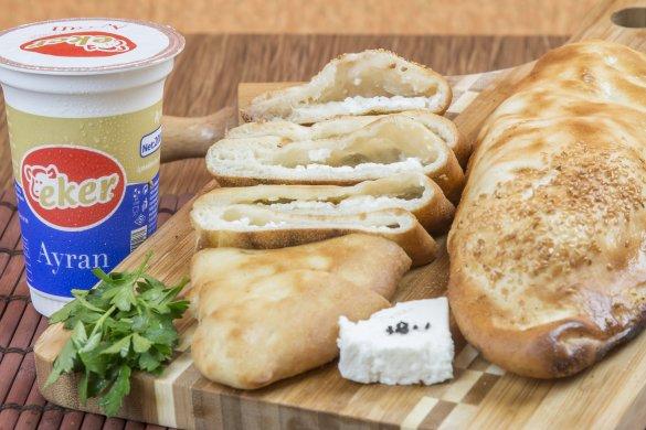 Beyaz Peynirli Kır Pidesi